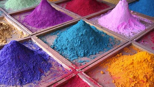 Общая таблица психологического влияния цвета